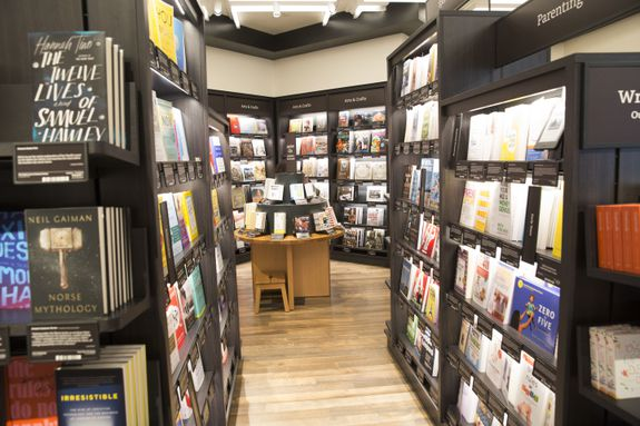 There are approximately 3,000 titles in the store.